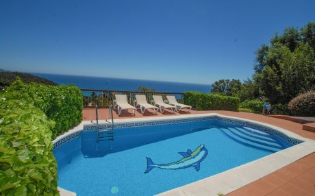 Villa for 9 people in Blanes