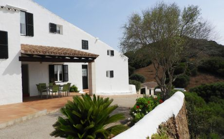 Finca for 9 people in Es Mercadal