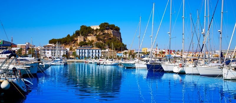 Holiday rental apartments in Denia