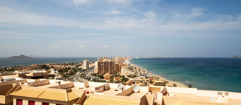 Holiday rental apartments in La Manga de Mar Menor