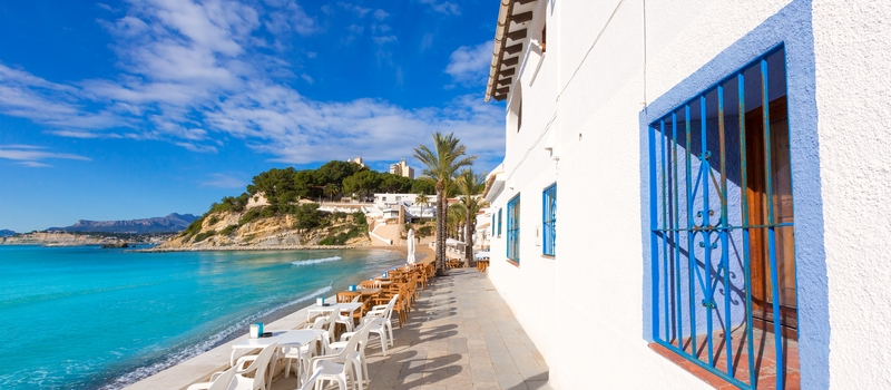 Apartment for rent Moraira