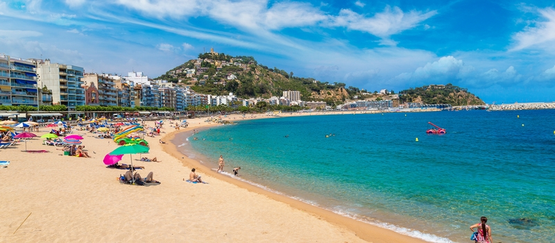 Vacation apartment in Blanes