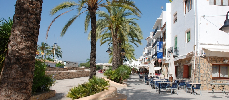 Apartments for rent Moraira