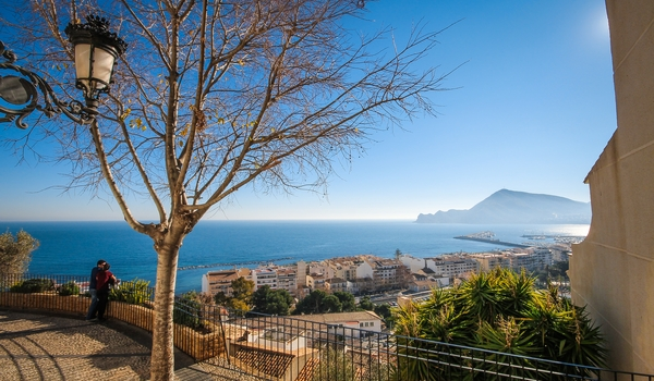Apartments to rent in Altea