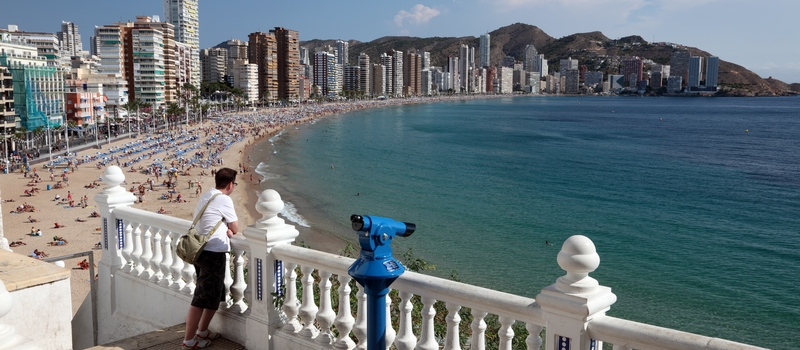 Apartments to rent in Benidorm