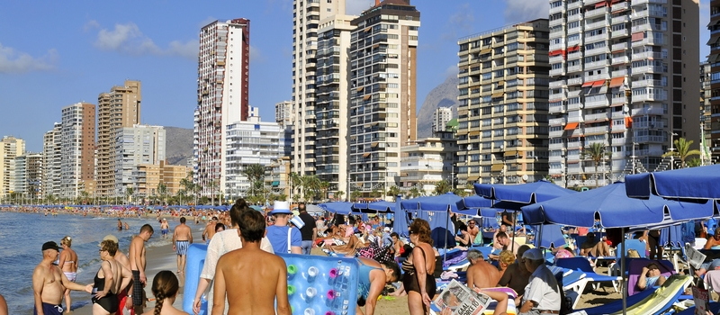 Holiday rental apartments in Benidorm
