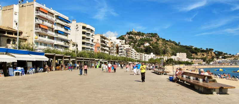 Vacation rental apartments in Blanes