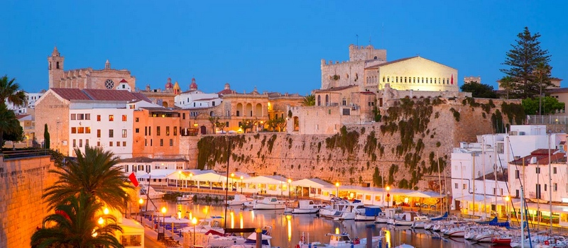 Holiday rental apartments in Menorca