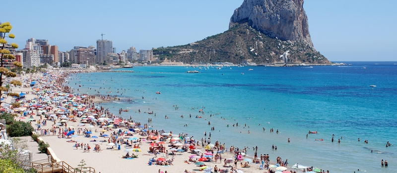 Holiday rental villas in Calpe