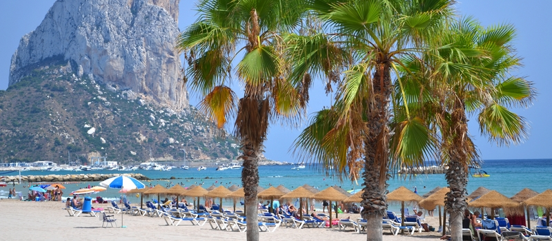 Holiday villas with private pool in Calpe